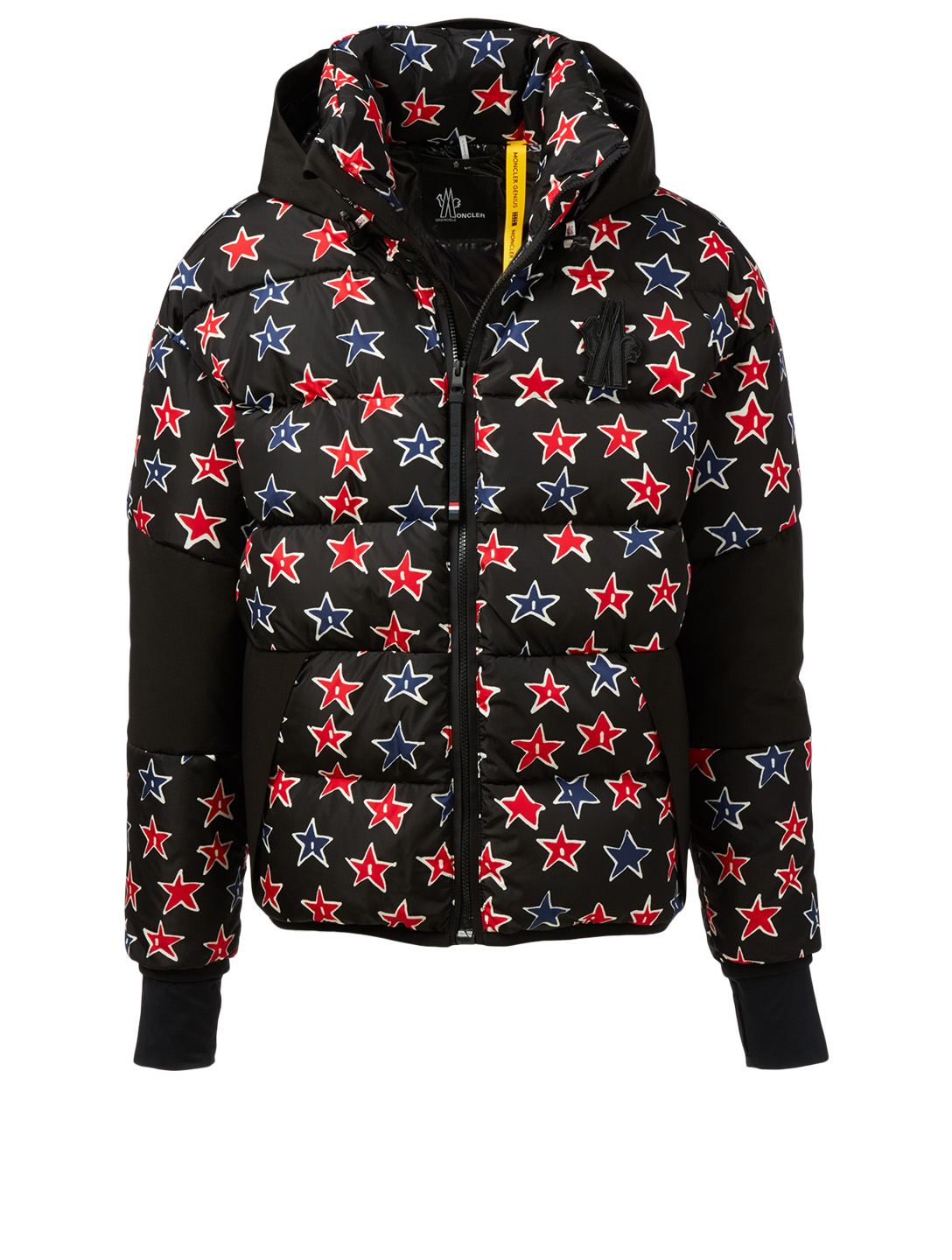MONCLER GENIUS Gollinger Jacket In Star Print Men's Black