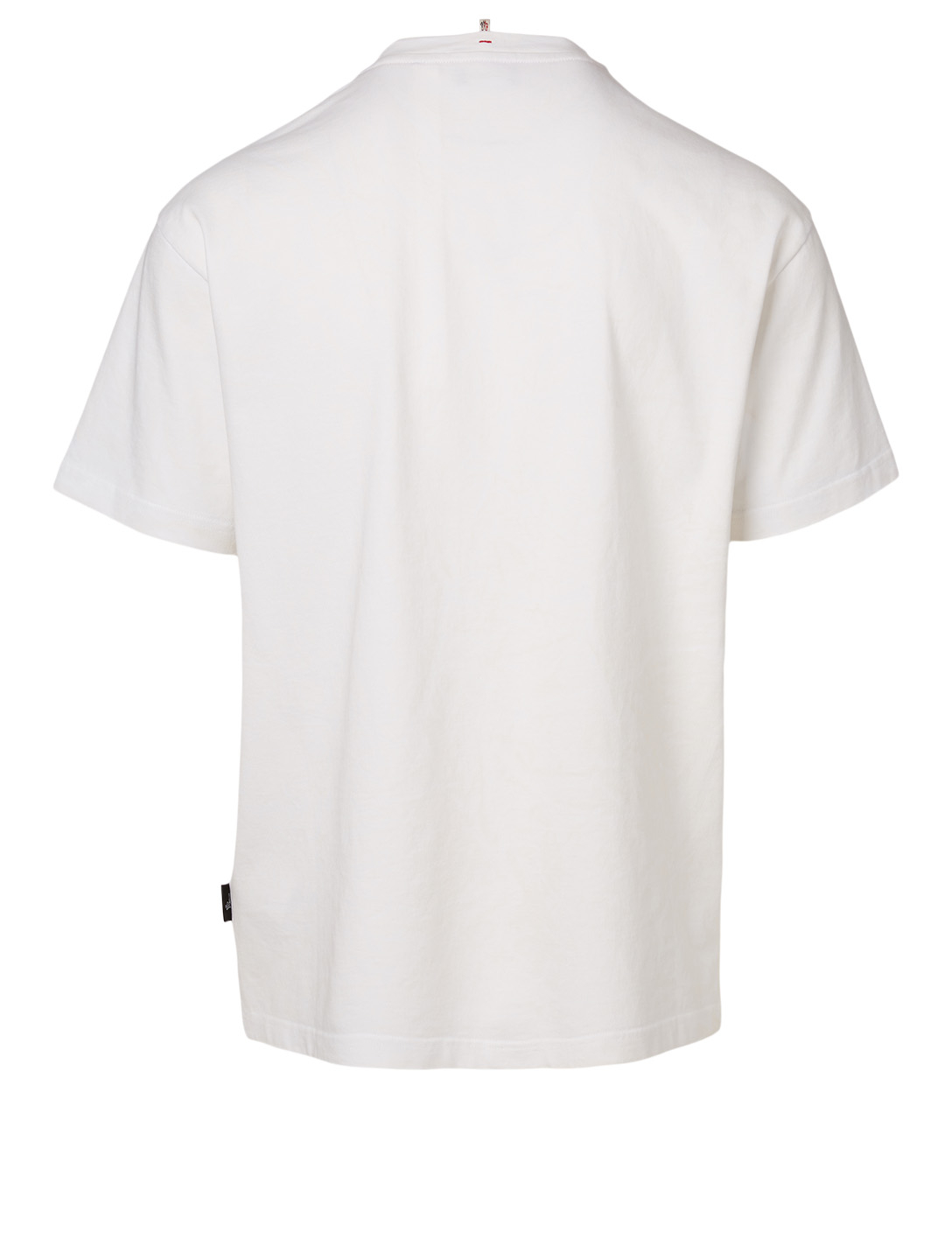 MONCLER GENIUS Woodstock Cotton T-Shirt Men's White
