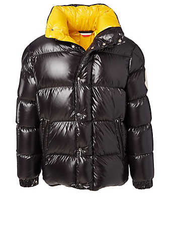 MONCLER GENIUS 2 Moncler 1952 + Valextra Dervaux Down Jacket Men's Black