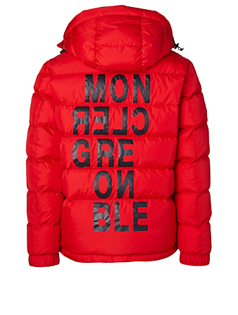 MONCLER GRENOBLE Isorno Down Jacket Men's Red