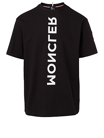 MONCLER GRENOBLE Cotton T-Shirt Men's Black
