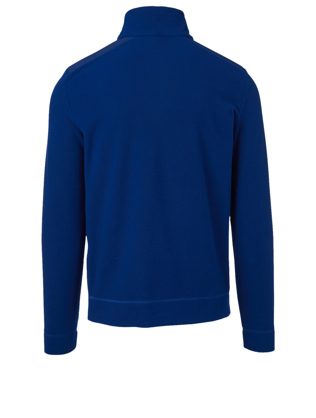 MONCLER GRENOBLE Fleece Zip Sweater Men's Blue