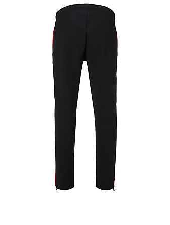 MONCLER GRENOBLE Side Stripe Pants Men's Black