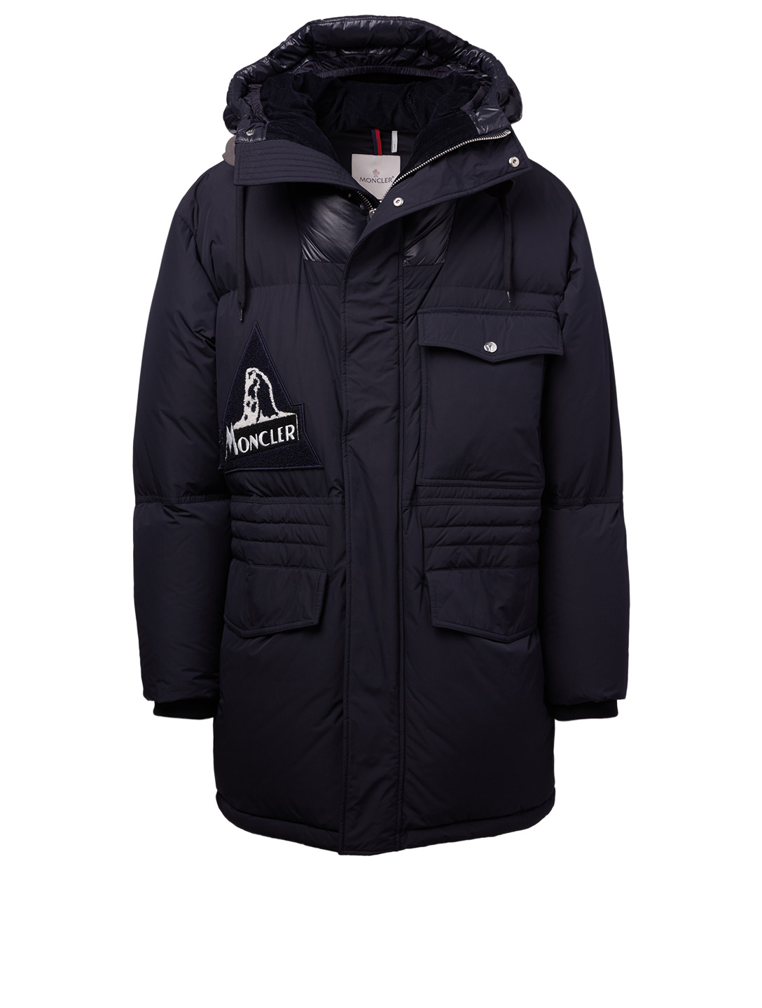 MONCLER Dedion Down Coat Men's Blue