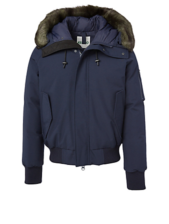 KENZO Down Bomber Jacket Men's Blue
