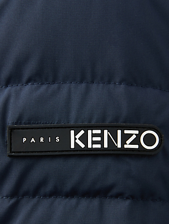 KENZO Kenzo World Reversible Puffer Jacket Men's Blue