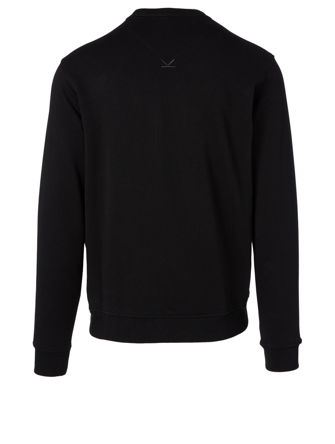 KENZO Cotton Logo Sweatshirt Men's Black