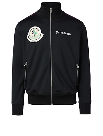 MONCLER GENIUS 8 Moncler Palm Angels Track Jacket Men's Black