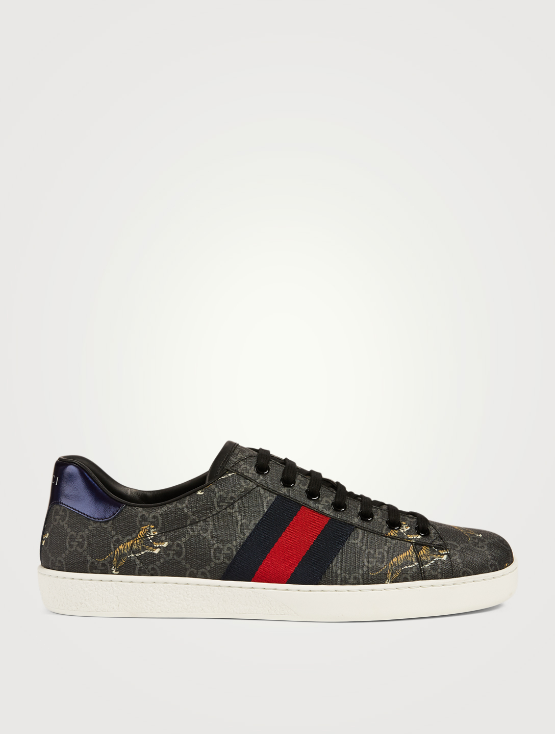 be901888e GUCCI Ace GG Supreme Sneakers With Tigers Men's Black ...