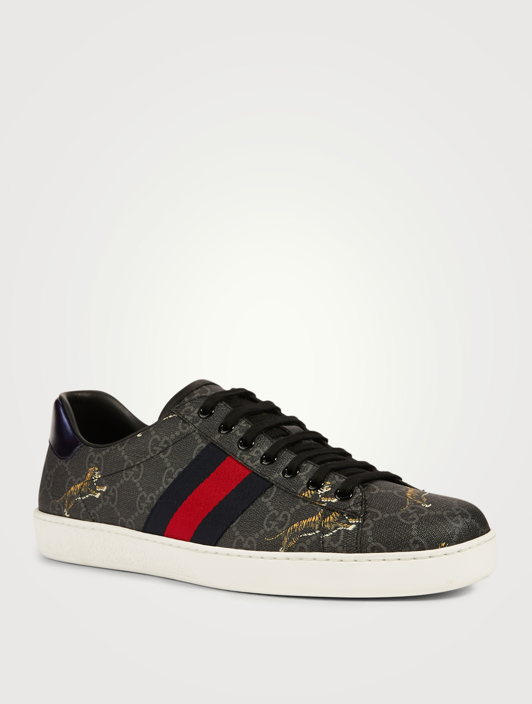 1dfe59b44a1 GUCCI Ace GG Supreme Sneakers With Tigers   Holt Renfrew