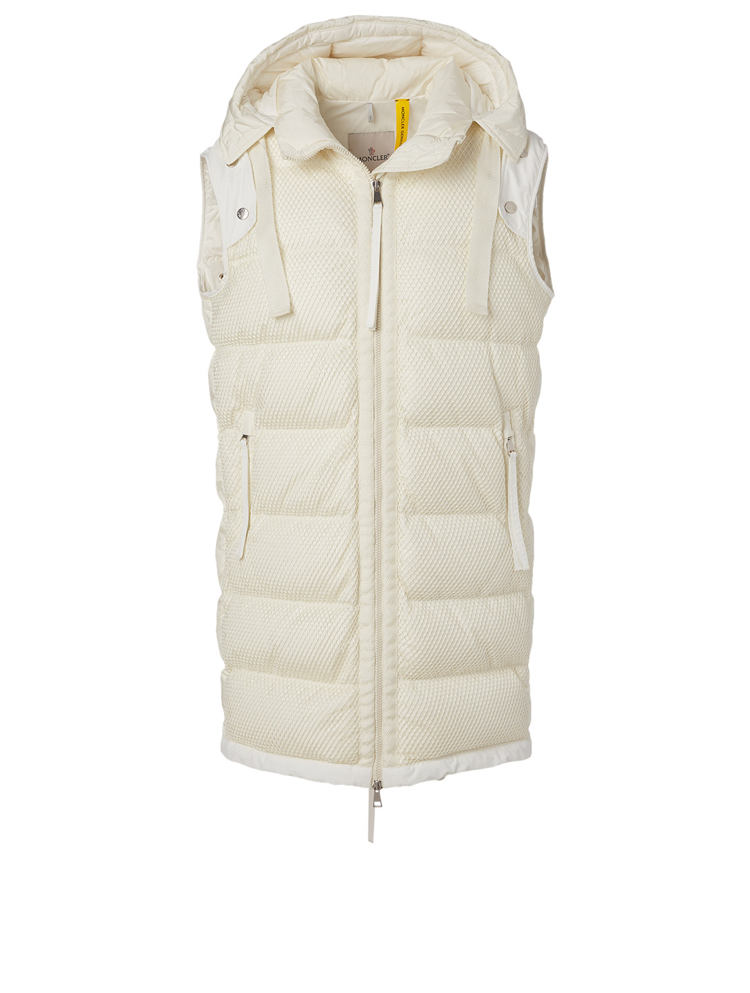 MONCLER GENIUS 2 Moncler 1952 + Valextra Narvalong Down Jacket Women's White