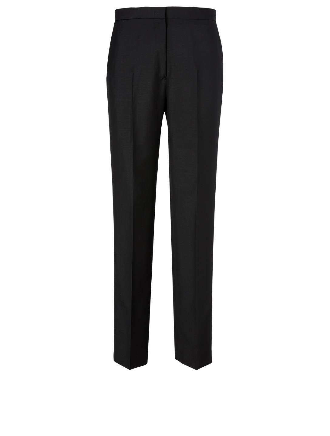 JIL SANDER Wool-Blend Slim Pants Women's Black