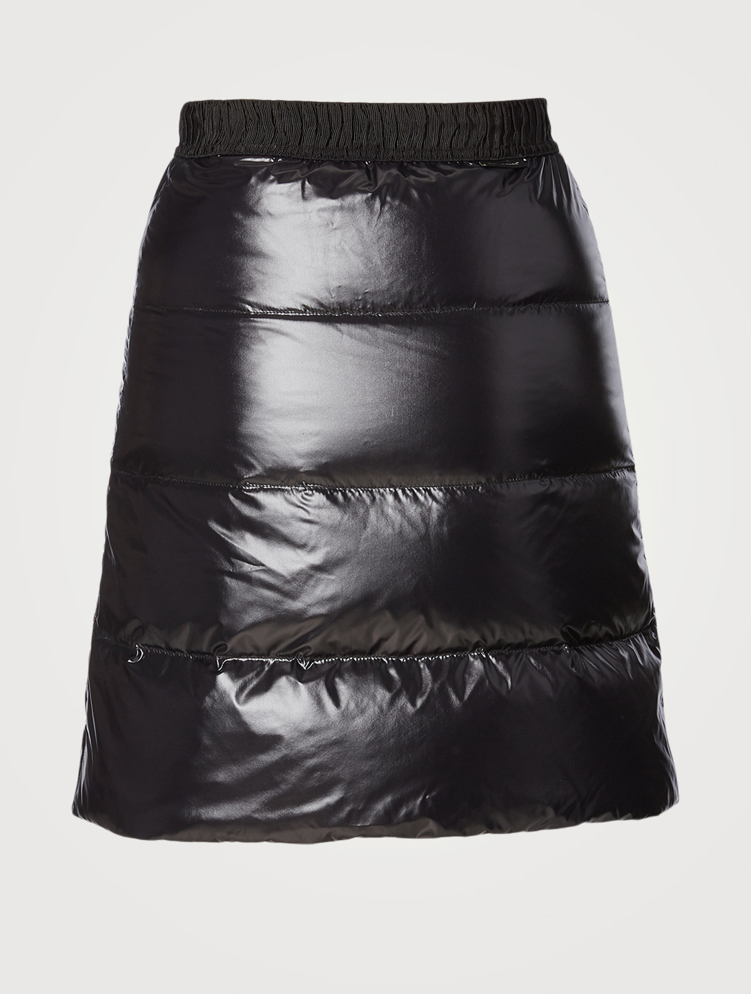 MONCLER Down Mini Skirt Women's Black