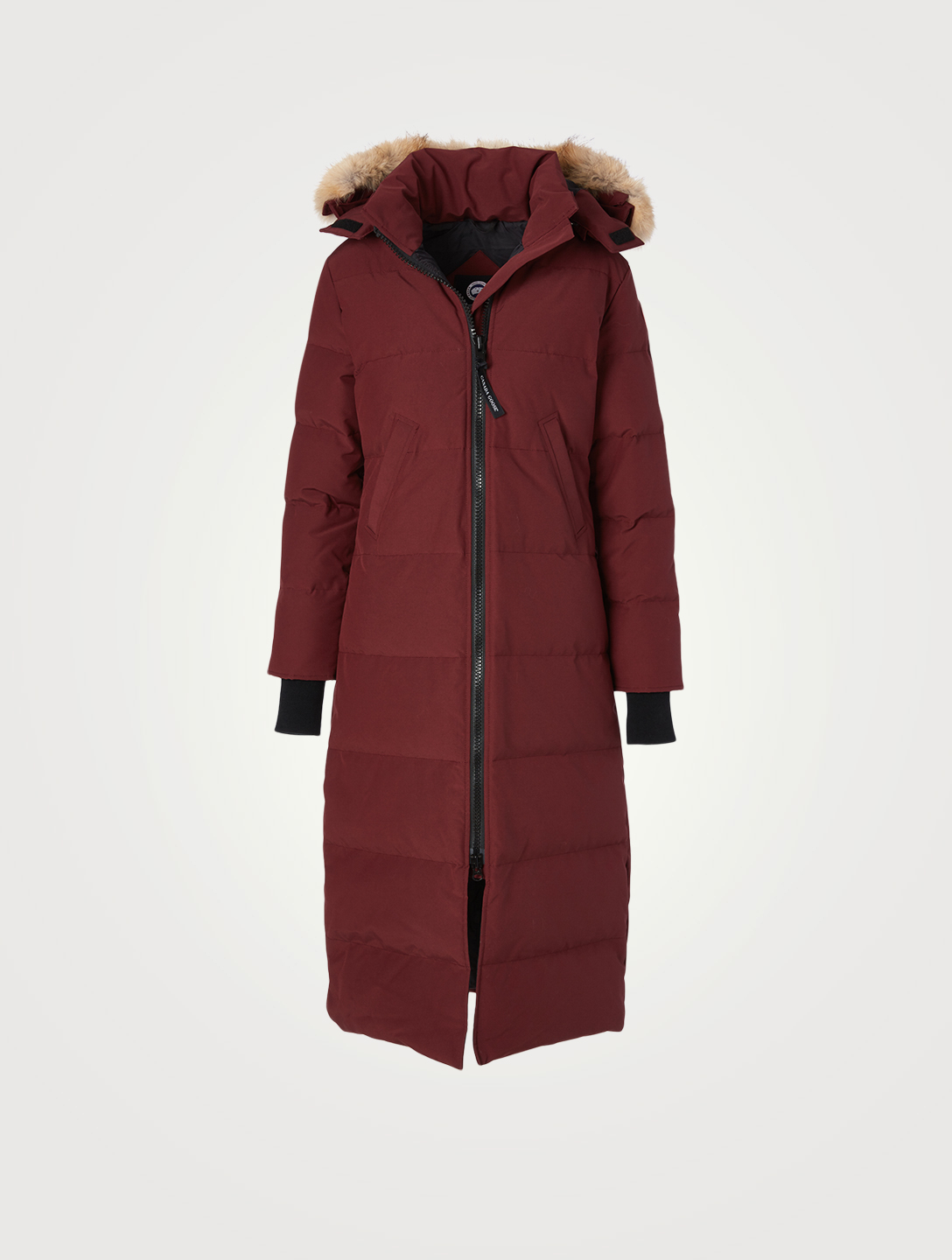 CANADA GOOSE Mystique Down Parka With Fur Hood - Fusion Fit Women's Red