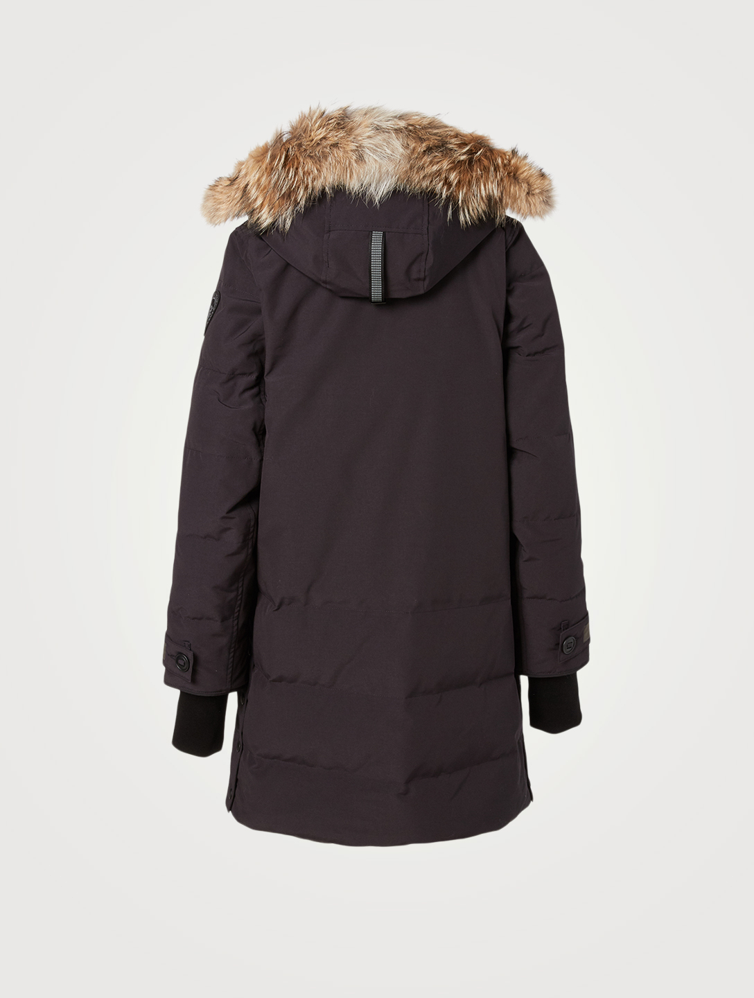 CANADA GOOSE Kenton Black Label Down Parka With Fur Hood Women's Blue
