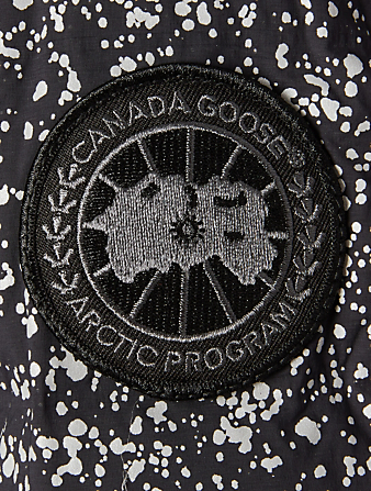 CANADA GOOSE Hybridge CW Black Label Jacket In Reflective Print Women's Black