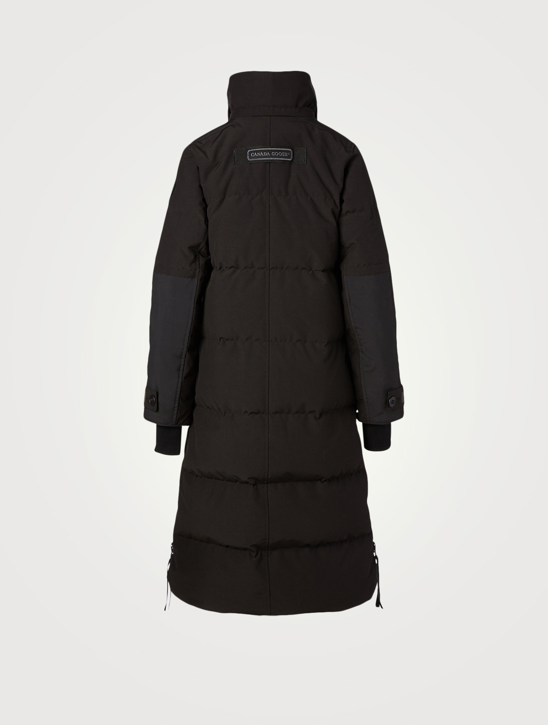 CANADA GOOSE Aldridge Black Label Down Coat With Fur Hood Women's Black