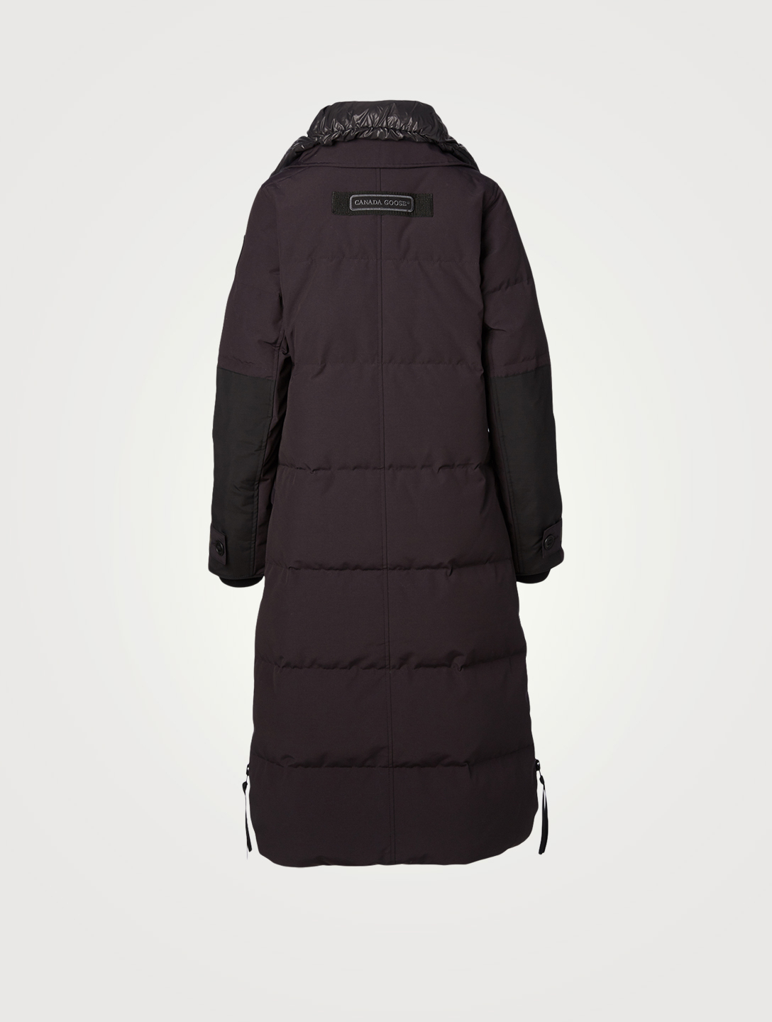 CANADA GOOSE Aldridge Black Label Down Coat With Fur Hood Women's Blue