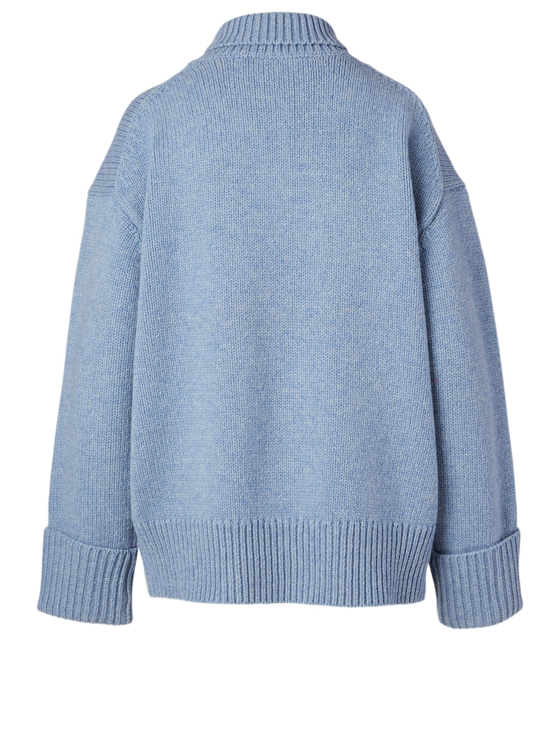 VICTORIA VICTORIA BECKHAM Wool Turtleneck Sweater Women's Blue