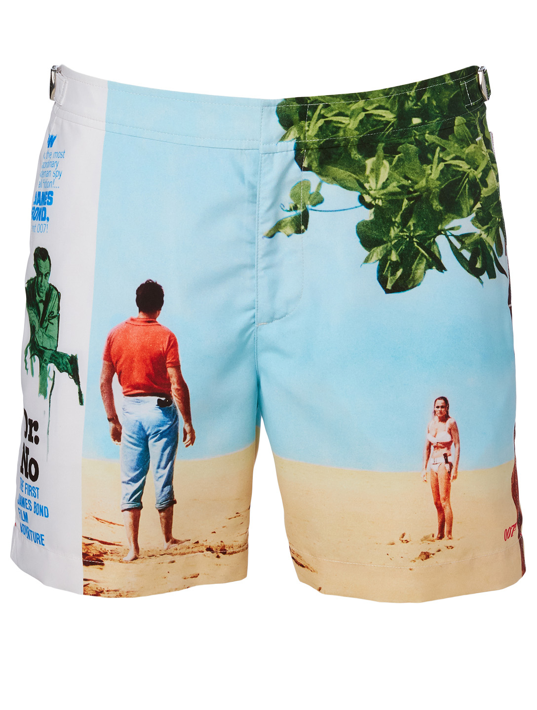 ORLEBAR BROWN Short de bain mi-long 007 Bulldog Thunderball Hommes