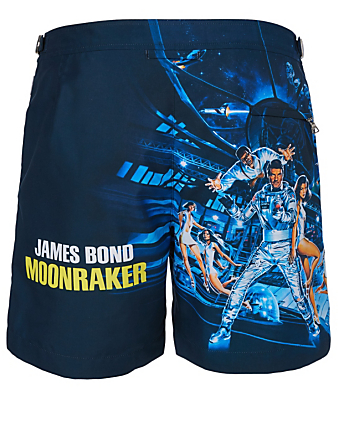 ORLEBAR BROWN 007 Bulldog Moonraker Mid-Length Swim Shorts Men's Multi