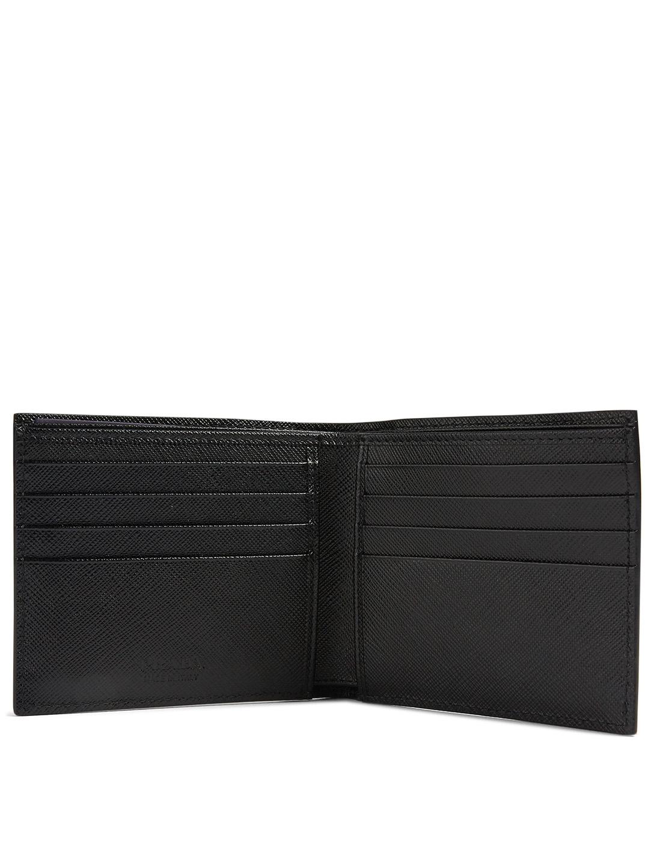 1f3d0cdf PRADA Saffiano Leather Wallet With Frankenstein Print   Holt Renfrew