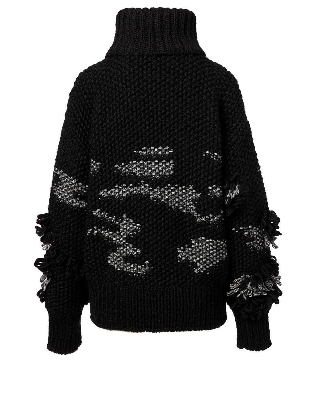 MCQ ALEXANDER MCQUEEN Wool Turtleneck Sweater Women's Black