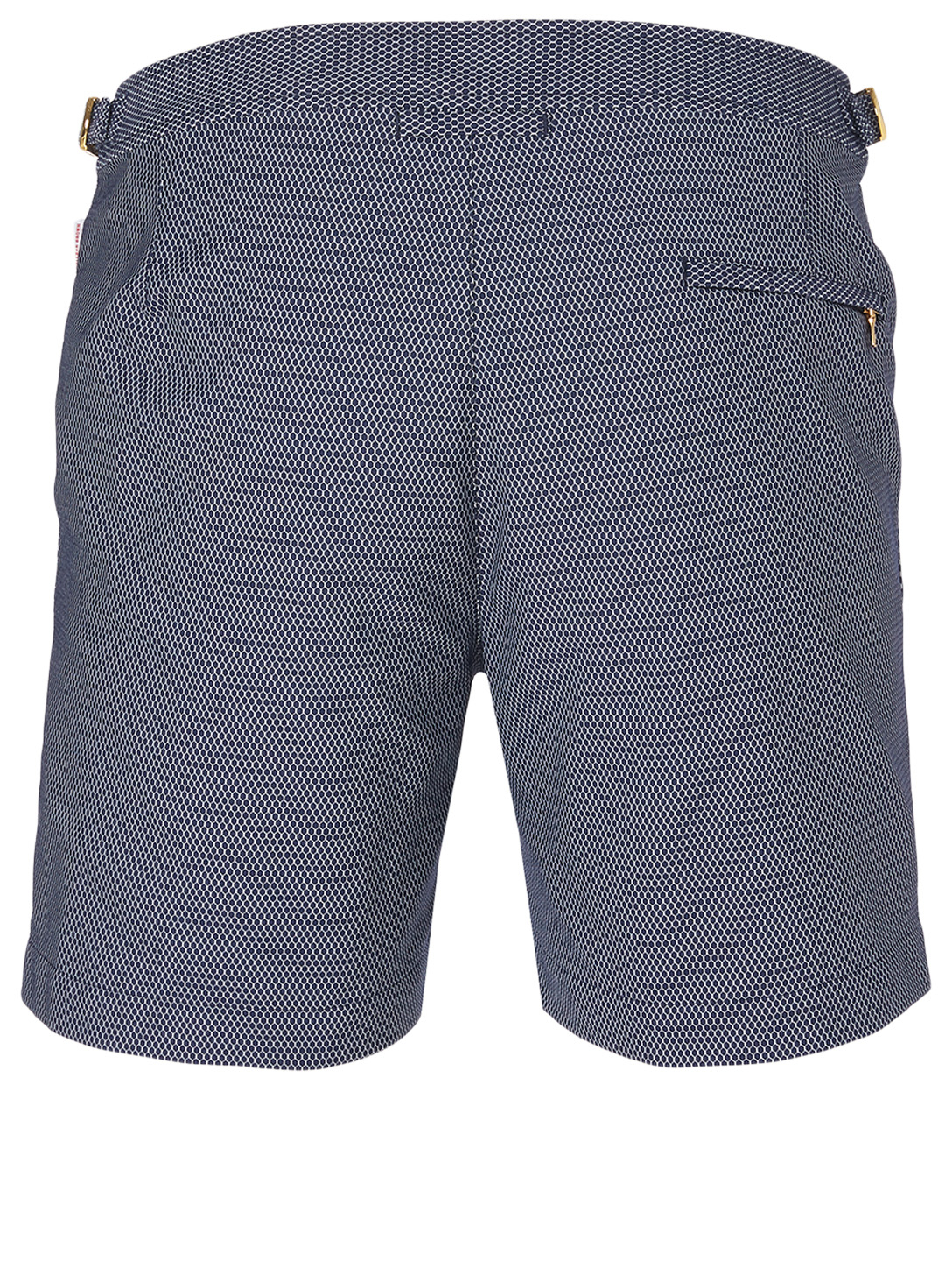 ORLEBAR BROWN Bulldog X Honeycomb Smarter Classic Swim Shorts Men's Blue