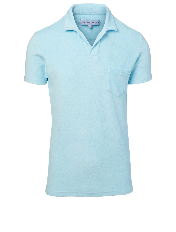7e82cca97 ORLEBAR BROWN Terry Towelling Resort Polo Shirt | Holt Renfrew