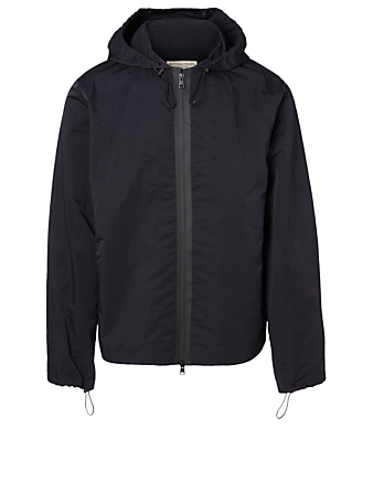 BOTTEGA VENETA Hooded Anorak Jacket Men's Black