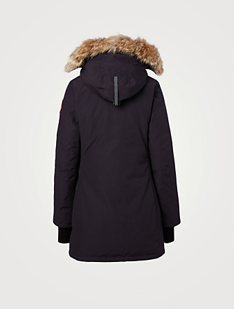 CANADA GOOSE Rosemont Down Parka With Fur Hood Women's Blue