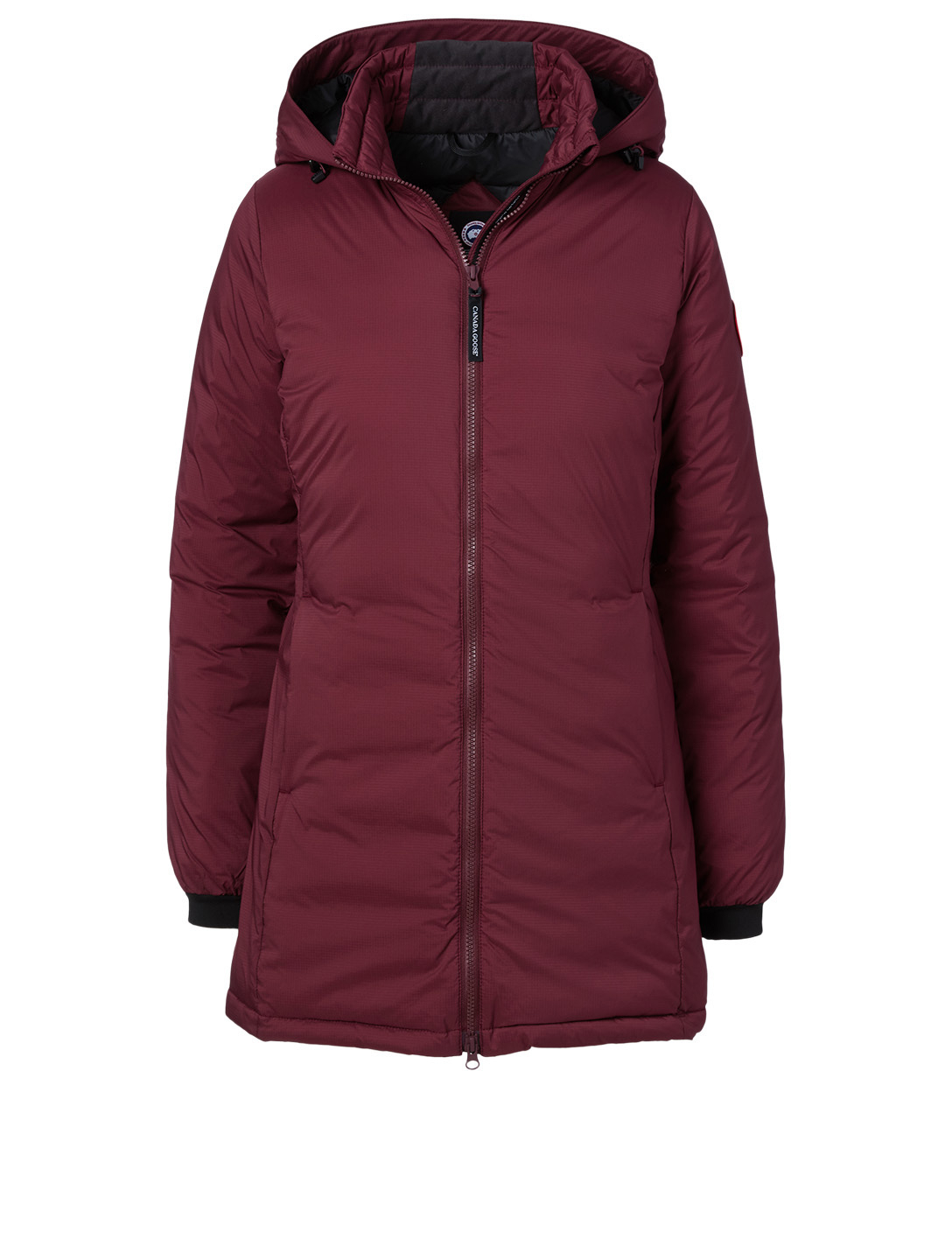 CANADA GOOSE Camp Hooded Jacket Women's Red
