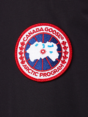 CANADA GOOSE Ellesmere Down Parka With Fur Hood Women's Blue