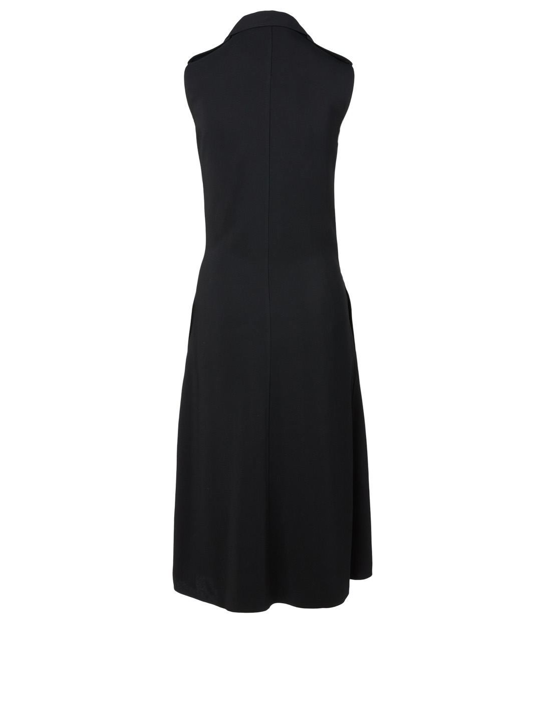 VICTORIA BECKHAM Midi Dress With Belt Women's Black