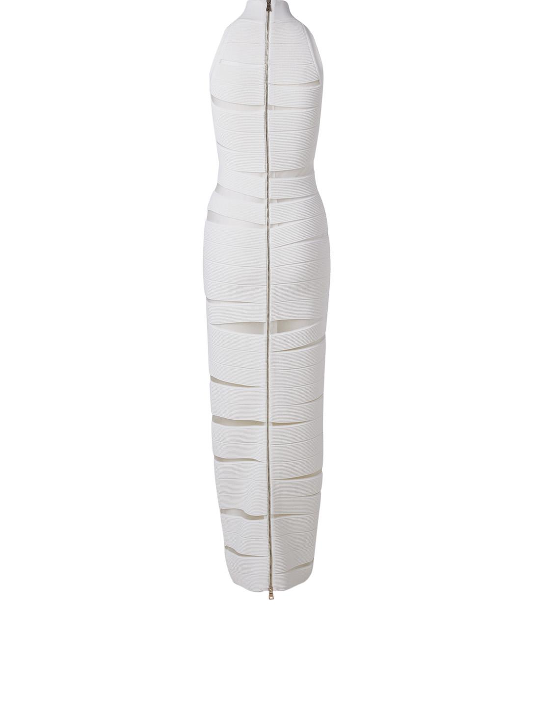 BALMAIN Sleeveless Gown Women's White