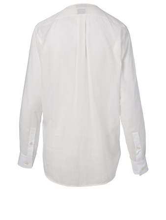 BOTTEGA VENETA Cotton And Silk Shirt Women's White
