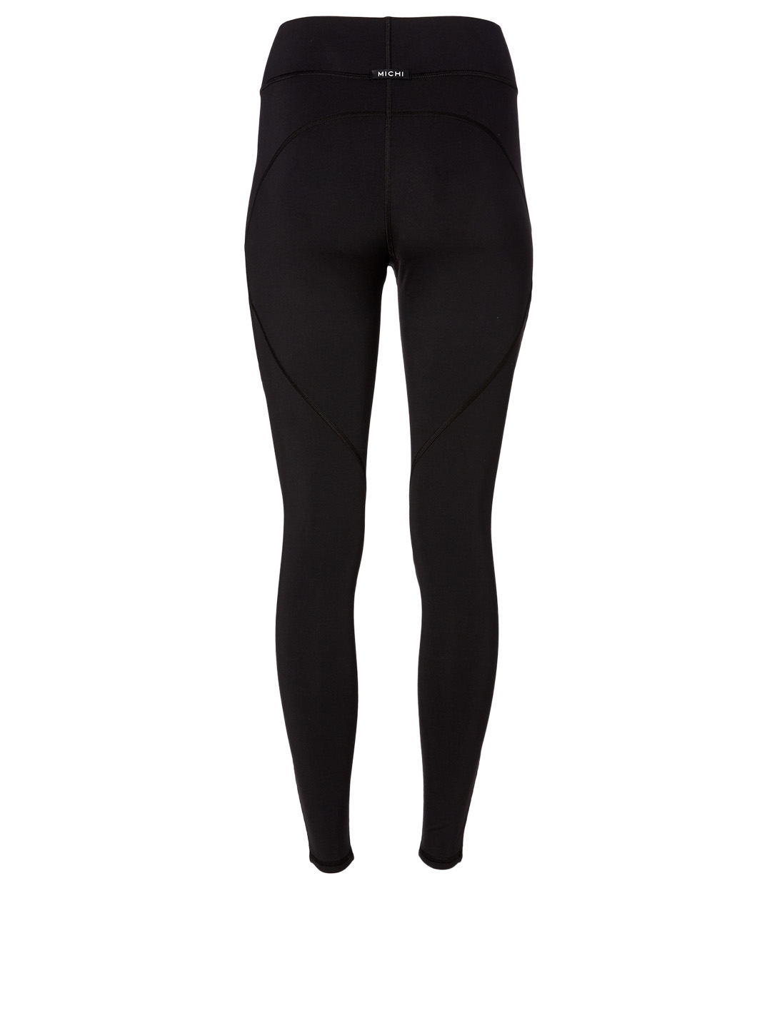 MICHI Axial High-Waisted Leggings Women's Black