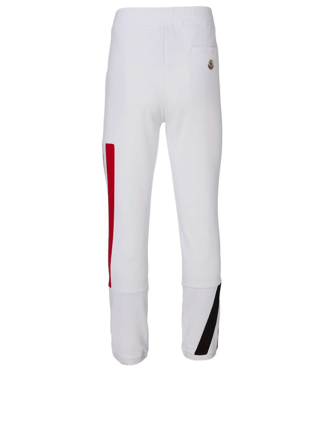 MONCLER Cotton Jogger Pants Men's White