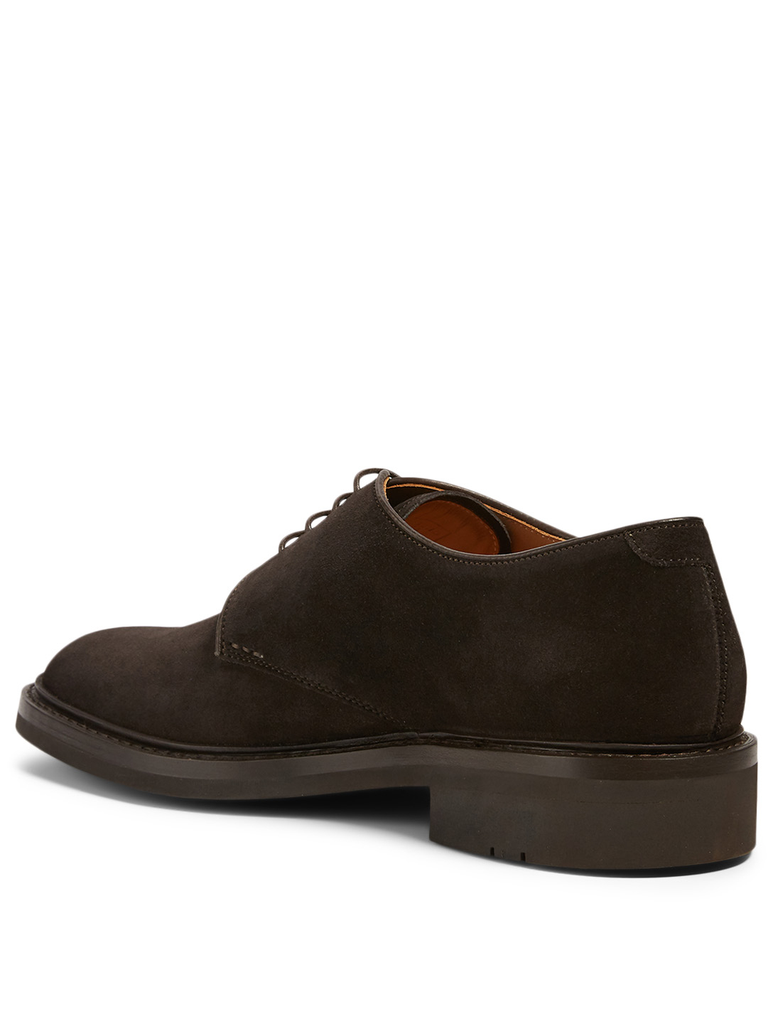 Fustet men's Derby in brown leather mounted on a Basalte sole