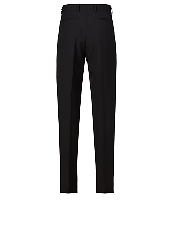 GIVENCHY Wool Slim-Fit Pants Men's Black