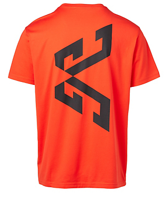 GIVENCHY Cotton Graphic T-Shirt Men's Red