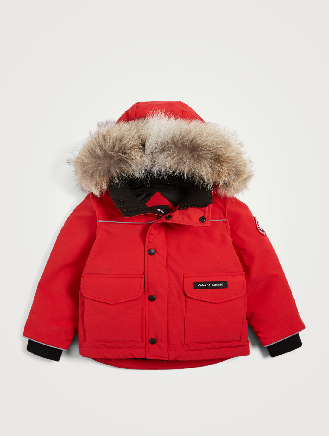 5a244023f CANADA GOOSE Kids Lynx Down Parka With Fur