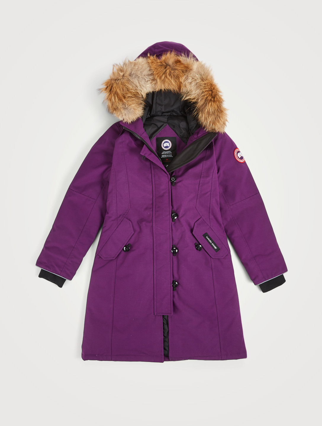 f52d43102 CANADA GOOSE Youth Brittania Down Parka With Fur