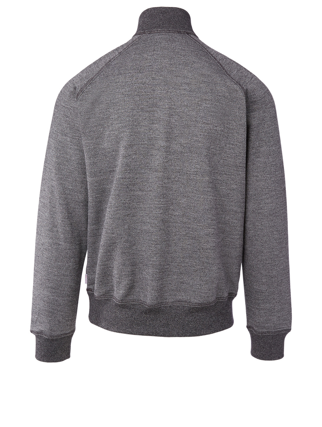 ORLEBAR BROWN Isar Cotton And Wool Zip Sweater Men's Grey