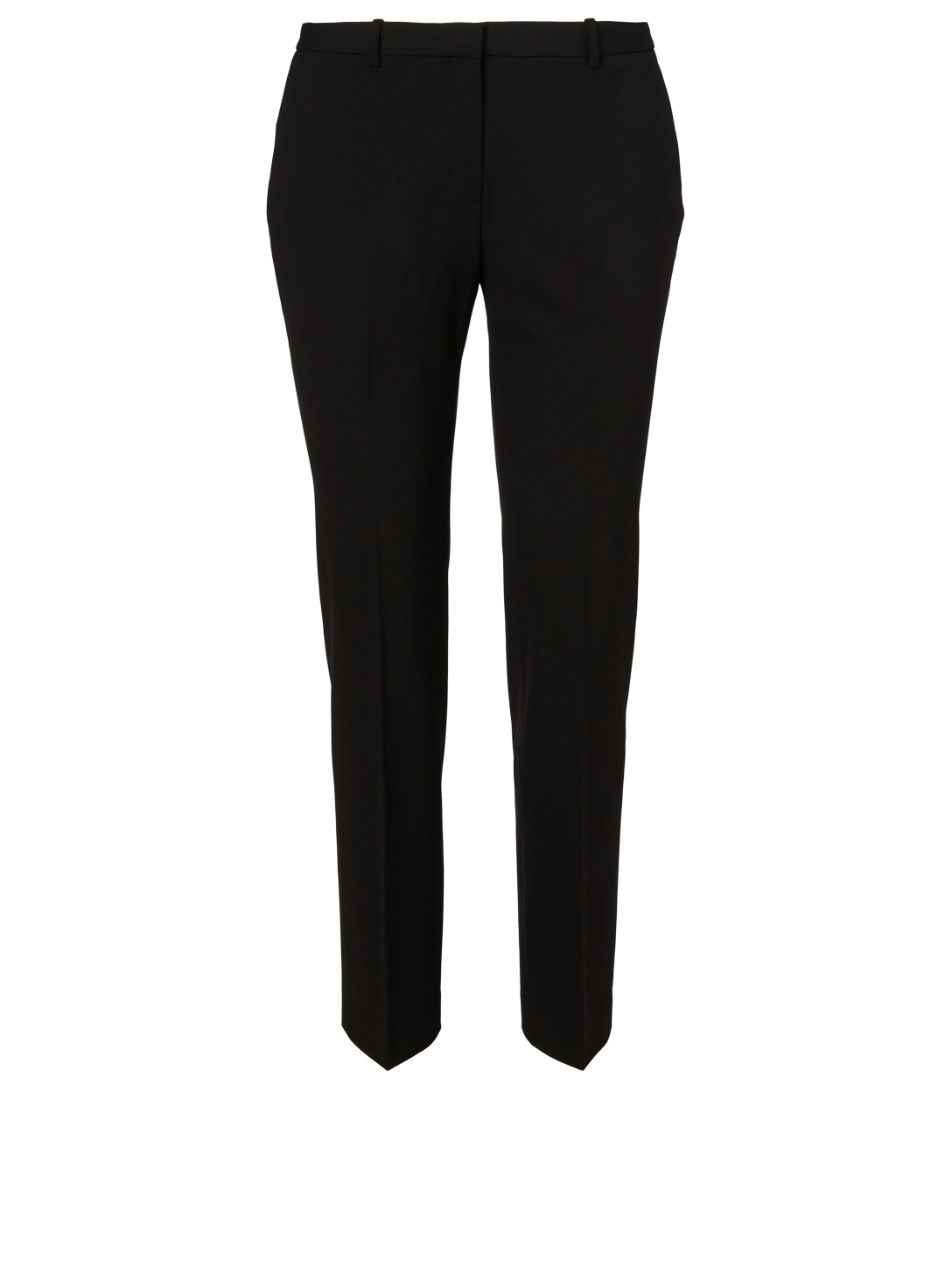 THEORY Hartsdale Wool Stretch Pants Women's Black