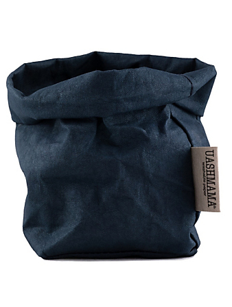 UASHMAMA Small Paper Bag H Project Blue