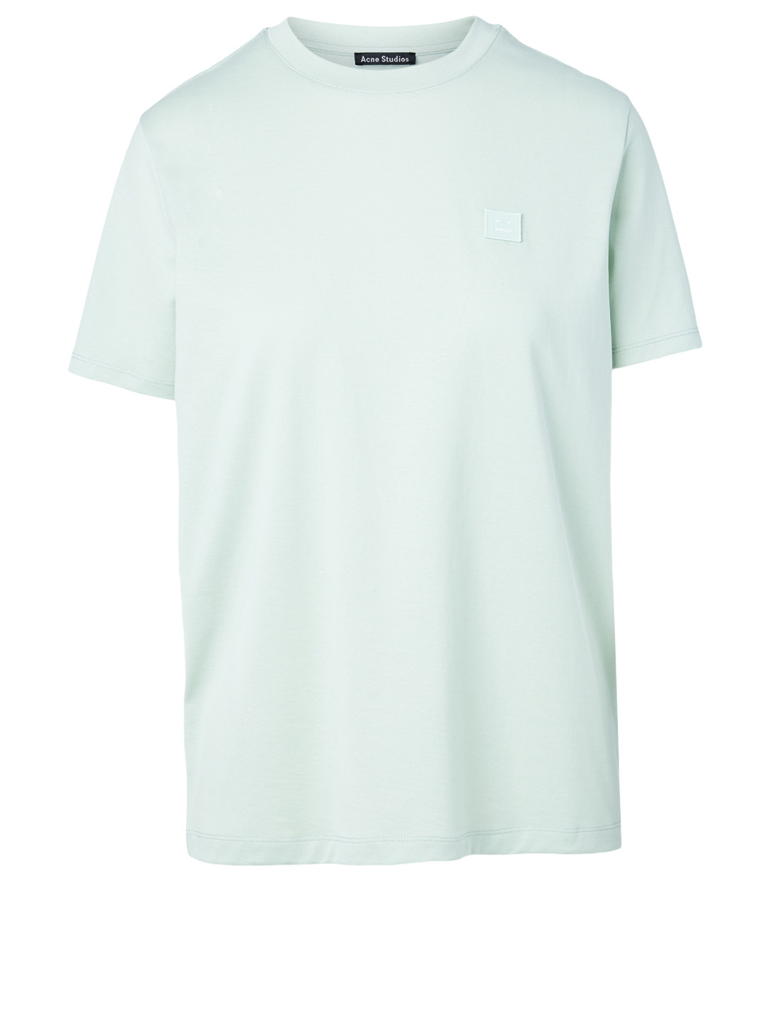 ACNE STUDIOS Cotton Face T-Shirt Women's Green