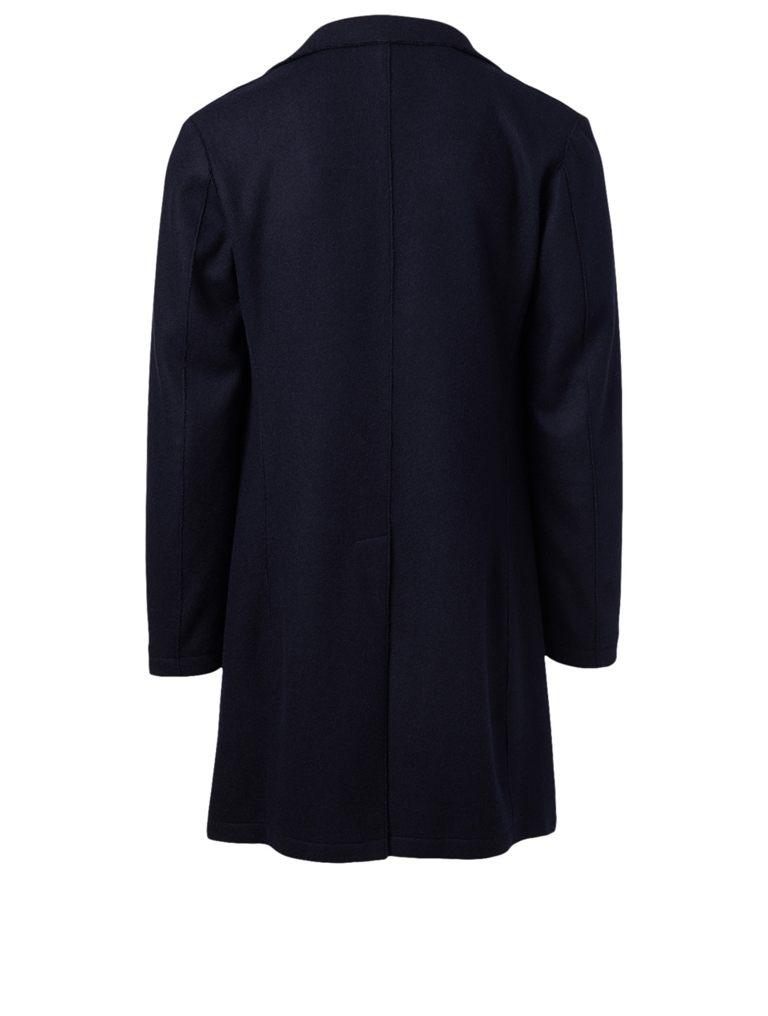 ELEVENTY Wool Coat Men's Blue