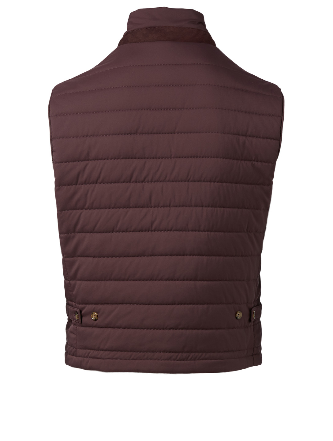 ELEVENTY Quilted Vest Men's Red