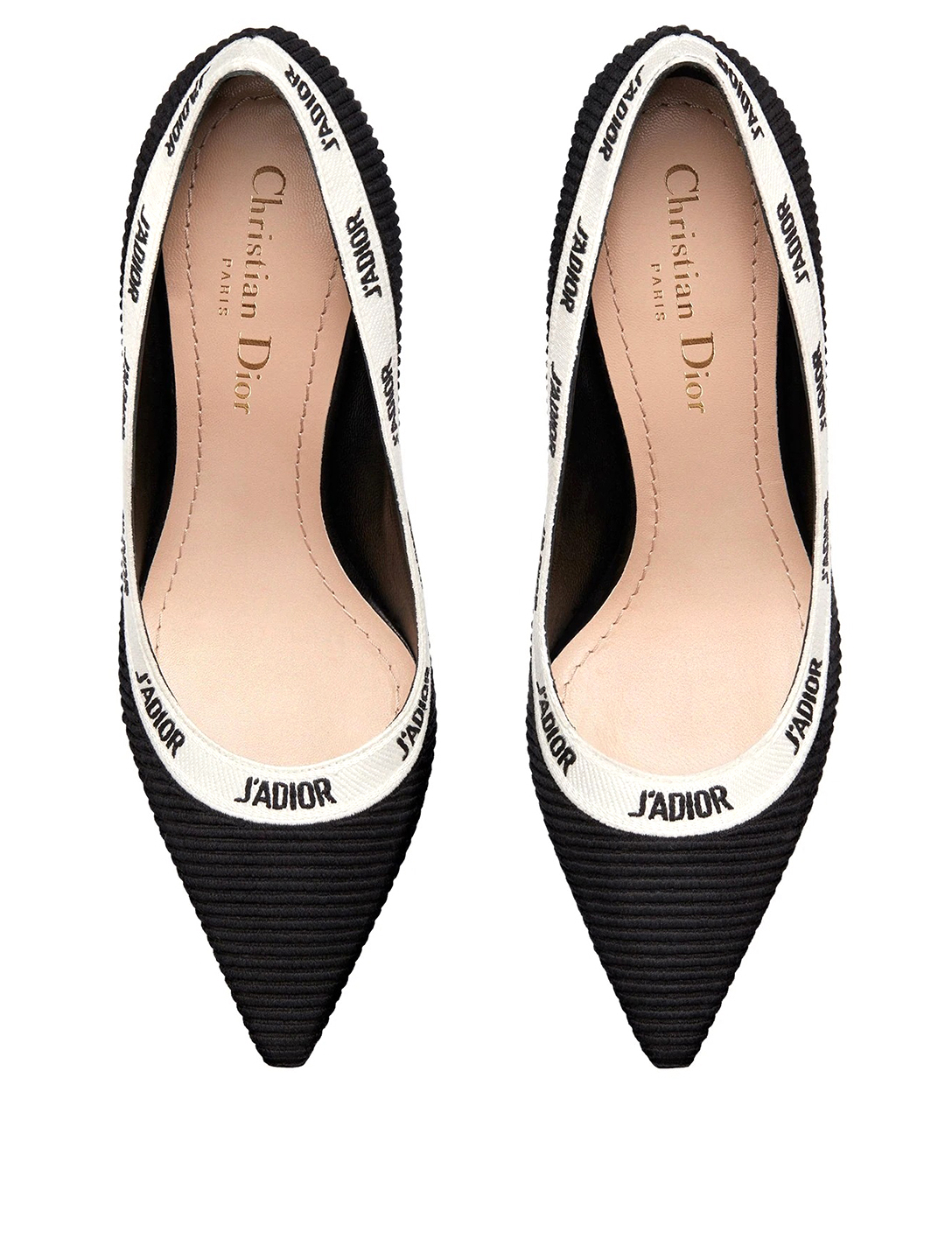 DIOR J'Adior Technical Fabric Pumps Women's Black